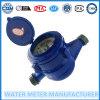 Plástico ABS Multi Jet tipo seco del contador del agua Mecánica