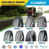 Tout le pneu en acier 1200r24 de camion de roue du radial 18
