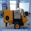 Petite pompe concrète mobile hydraulique à haute pression