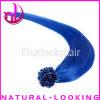 熱いプロダクトPrebonded 100%のインドの人間の毛髪のRemyの毛延長