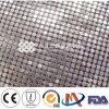 Étiquettes faites sur commande d'habillement en métal/tissu métallique de Tableau de Sequin