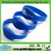 Wristband impermeable de Nfc del silicón de la viruta Ntag203