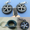 Mini 3D Tyre Shape Tire Key Chain Rubber Tire Key Rings