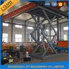 3.5 toneladas de hidráulico Scissor la carretilla elevadora con la altura de elevación de los 6m