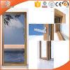 Porta articulada elogiada elevada da madeira contínua