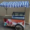 Chariot dur mobile de Gelato de crème glacée glacée