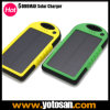 Shockproof防水Portable Solar Charger 5000mAh PowerバンクBattery