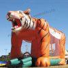 Gorila inflable del tigre gigante