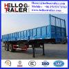 半3つの車軸輸送箱のサイドウォールの貨物トレーラー