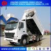 20m3 덤프 트럭 30tons 팁 주는 사람 트럭을 기울이는 HOWO A7 정면