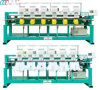 Industral Six Heads Tubular Embroidery Machine para Cap/Shirt com 9 Needles