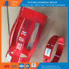 API 10d 7  X8 1/2  flexibler Bogen-integraler Gehäuse-Zentralisator