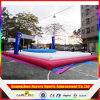 Corte de voleibol inflável inflável da corte de voleibol da praia como o jogo inflável dos esportes
