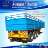 Tri-Axle Bulk Cargo Semi Truck Trailer mit Side Doors