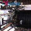 Ligne en spirale d'extrusion de pipe renforcée par acier d'extrusion de pipe ridée par HDPE