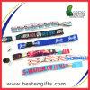 Kundenspezifisches Schule Identifikation-Polyester gesponnenes Armband der Qualitäts-2014 (B00035)
