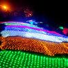 4X6m luz da rede do Natal de 672 diodos emissores de luz