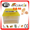 96 oeufs Capacity Automatic Chicken /Duck Egg Incubator avec Electric
