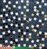 15X15mm Glass Mix Stone Mix Metal Tile Mosaic (KSL131033)