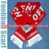 Sjaal van de Jacquard van de Voetbal van 100% de Acryl, de Gebreide Sjaal van Ventilators Sjaal