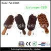 Azionamento dell'istantaneo del USB di disegno del gelato (PVC-FD008)