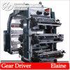 Seis Plástico Color de impresión flexográfica Máquina (CE)