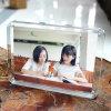 正方形のアクリルの額縁のハング壁の卸し売り写真フレーム