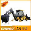 45HP de Tractoren van het landbouwbedrijf, 4X4 Tractoren met de Laders van het VoorEind en Backhoe