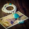 Corrente 2016 original manual fêmea popular da camisola do pendente de turquesa da jóia DIY Perlas da forma da colar