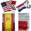 La bandera de América, la bandera de España, Holanda, banderas nacionales
