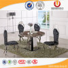 Tabella di marmo della sede della mobilia 4 della sala da pranzo (UL-DC339)