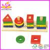 Woodenの熱い教育おもちゃ-ブロック(W13D007)