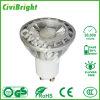 Proyector ligero de la fábrica 7W GU10 LED de China