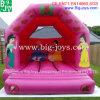 Campo de jogos inflável cor-de-rosa do Bouncer para as crianças (BJ-B03)