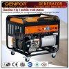 Benzine 4 in 1 Mobiele Generator van de Post van het Werk, Lasser, Compressor van de Lucht en de Lader van de Batterij