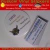 주문 자동 접착 비닐 공간 둥근 스티커, 공간 레이블 스티커