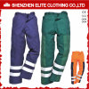 Calças por atacado do Workwear da segurança da indústria do verde azul (ELTHVPI-27)