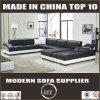 A maioria de sofá secional moderno popular do couro da mobília de Italy