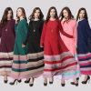 Maxi Kaftan islamico delle donne di Jilbab Burka del vestito della Doubai Abaya (A946)