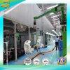 Piattaforma del lavoro per il rivestimento producendo riga