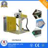 Machine économique d'inscription de fil de laser de fibre à vendre