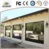 Ventana fija de aluminio modificada para requisitos particulares fabricación de la buena calidad
