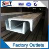 Canaleta em U AISI304 de aço da calha de aço inoxidável