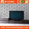 Papier peint de salle de séjour de fond de TV (CR-0205)