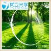 Hydrophobic1.67 lente 75mm / 70mm Asp UV400 Súper Mr-7 Verde revestimiento óptico