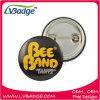 Insigne rond promotionnel de fer blanc de l'insigne de bidon/Pin