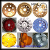 Chamfering를 위한 컵 Diamond Grinding Wheel