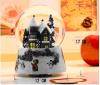 Polyresin elektrische Weihnachtsandenken-Schnee-Kugel