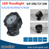 Park/Garten Outdoor Landscape Lighting LED Floodlight 54X2w, LED Decorative Flood Lamp 108W