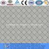 Plat ondulé antidérapant de l'acier inoxydable En1.4301